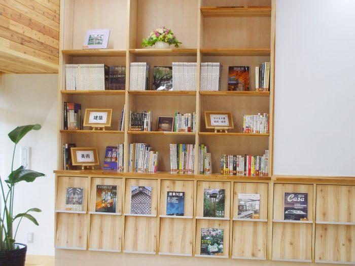 まちライブラリーの本棚